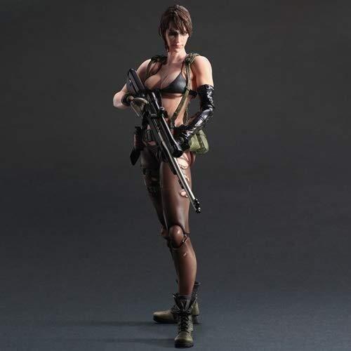 Xfwj Metal Gear Solid V Estatua Acción Juego Disparos Modelo Tranquila Transformación...