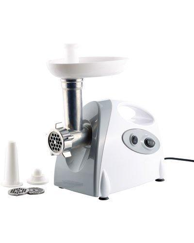 PEARL Fleischmaschine: Elektrischer Multifunktions-Fleischwolf mit 800 Watt Drehleistung (Fleisch Zerkleinern Maschine)