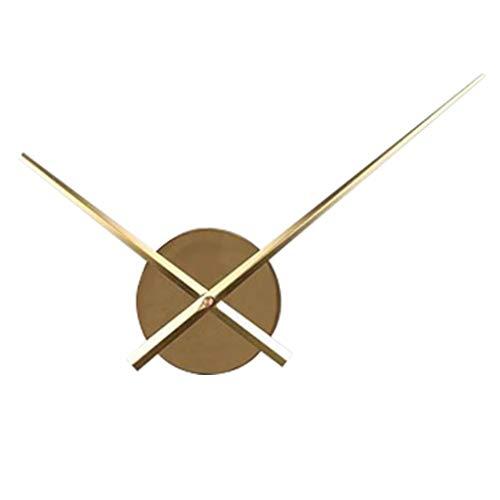 NA Reloj de Pared Relojes De Cuarzo Reloj De Bricolaje Mute Scan Segundos Movimiento 3D Relojes Home Photo Reloj De Pared Accesorios Living Room Decor Go