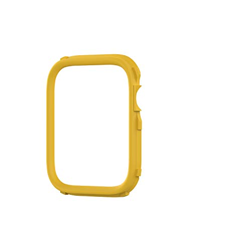 RhinoShield CrashGuard NX Extra Rim [ONLY] compatible with Apple Watch SE [40mm] & Series 6/5 / 4 [40mm] & Series 3/2 / 1 [38mm] | Additional ACCESSORY for RhinoShield Apple Watch Case - Yellow