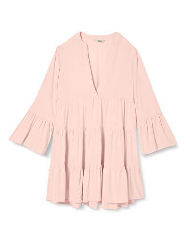 ONLY Damen ONLNANCY 3/4 Athena Dress WVN Kleid, Lotus, 38