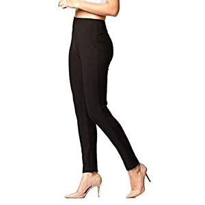 Women's Stretch Ponte Pants – Dressy Leggings – Wear to W...