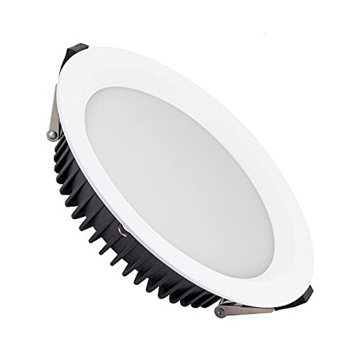 LEDKIA LIGHTING Downlight LED 20W New Aero Slim 130 lm/W (UGR19) LIFUD Corte Ø 155 mm Blanco Cálido 2700K - 3200K