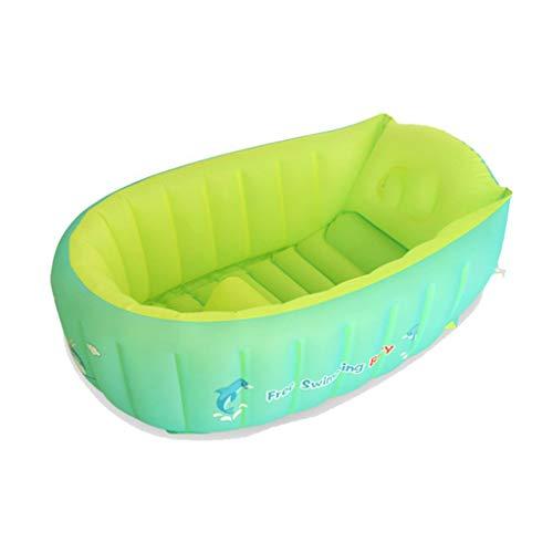 Badinstallation Badewanne aufblasbare wanne badewanne badewanne Hause badewanne klapp badewanne Kunststoff badewanne babywanne (Color : Green, Size : 75 * 50 * 25cm)