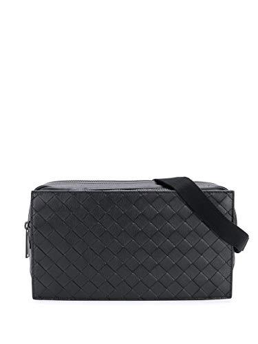 Bottega Veneta Luxury Fashion Herren 609853VCQH18984 Schwarz Leder Gürteltasche   Frühling Sommer 20