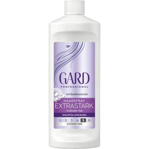 Gard Professional Haarspray Extra Stark 5 Nachfüllpack (5x120ml)