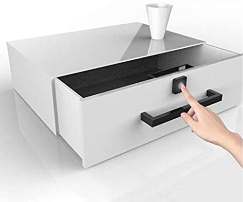 Super Mini Fingerprint Lock for Drawer Cabinet Wardrobe Round Smart Electric Anti Theft Safe Securit - coolthings.us