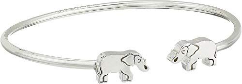 Alex and Ani Women's Elephant Cuff Bracelet, Sterling Silver