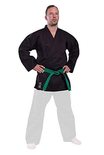 Budoten Karate-Jacke schwarz 190