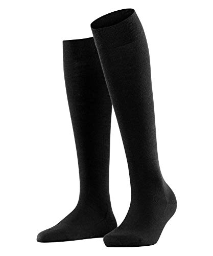 FALKE Damen Socken, Softmerino W KH-47438, Schwarz (Black 3009), 37-38