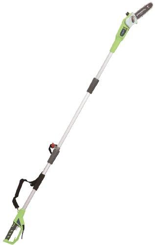 Greenworks Tools GPS7220 20147 20cm 720W Elektro Hochentaster/Astschere, 720 W, 230 V, grün