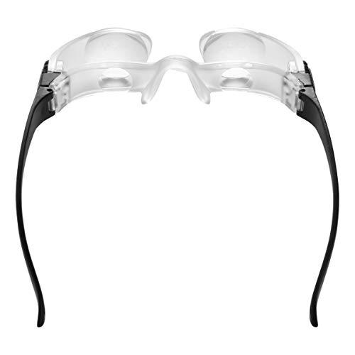 BESPORTBLE TV-Lupen Fernsicht Fernsehen Lupen Brille HD Lupe Stirnband Vergrößerung Teleskop Brille Headset