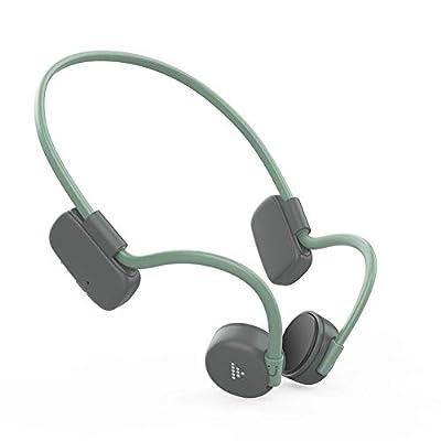 Bone Conduction Headphones Bluetooth 5.0 Waterproof Open-Ear Earphones Wireless Sport Headset For Jogging Running Cycling Driving Fitness from Fiaoen