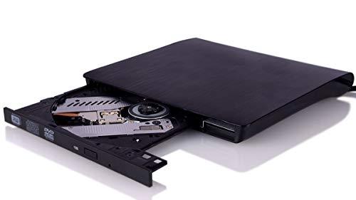 External CD Drive, USB 3.0 External DVD CD Drive, Burner High Speed Data Transfer USB dvd Player for Laptop Support Desktop Macbook Air Pro/ Air/ iMac/ Mac OS/ Windows/ Vista/7/8/10