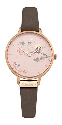 [サラミラー] SARA MILLER LONDON チェルシー CHELSEA レディース時計 腕時計 レザーベルト 38mm SA2004 [並行輸入品]