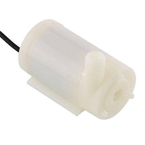 Mini Wasserpumpe,3-6V 120L / H Ultra-leiser Bürstenloser Motor Tauchwasserpumpe Mikrohorizontale Tauchpumpe