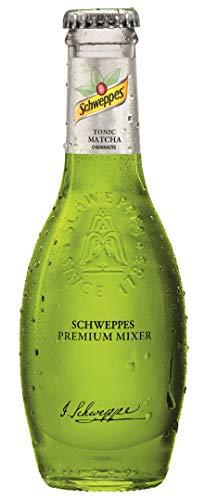 12 Flaschen Schweppes Premium Mixer Tonic Matcha a 0,2L in der Glas Flasche inc. 1.80€ MEHRWEG Pfand