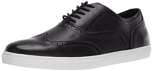 Unlisted by Kenneth Cole Men's Stand Sneaker G, Black, 7.5 M US