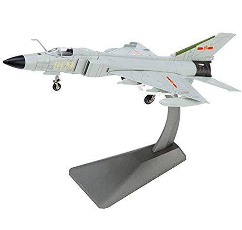 CMO Modellino Aereo, Combattente Cinese J-8B Lega Modello Scala 1/72, Giocattoli e Regali per Adulti, 11,7 X 5,1 Pollici