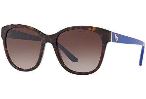 Ralph Lauren 0RL8143 Gafas de Sol, Dark Havana, 55 para Mujer