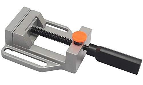 Rdeer Mini-Schraubstock, Schraubstock für Tisch, Klemmbacke, 70 mm, Aluminiumlegierung