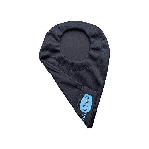 Stomacloak   Ostomy Bag Cover   Odor Reducing (Black, 2.75 Regular)