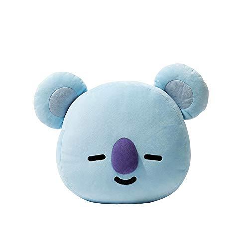 Niedliches Cartoon-Wurfkissen, weiches Plüsch-Puppenspielzeug, kugelsicheres Kissen (Koala, L)