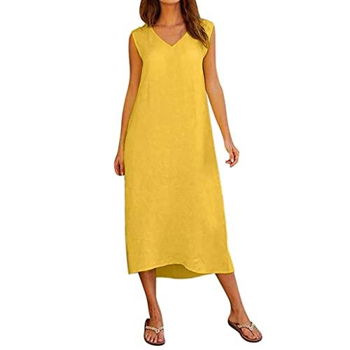 CHENC Trajes de baño for Mujeres, Blanco Atractivo del Bikini señora Swimwear, Deporte de Las Mujeres del Traje de baño Femenino de la Nadada del bañador (Color : Yellow, Size : L)