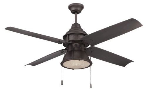 Craftmade Outdoor Ceiling Fan with CFL Light...