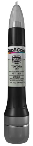 Dupli-Color ATY1605 Antique Sage Pearl Toyota Exact-Match Scratch Fix All-in-1 Touch-Up Paint - 0.5 oz.