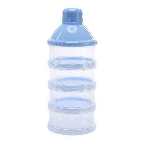 Dosatore per latte in polvere, Felly Dispenser di latte in polvere Impilabile contenitore spuntino per il campeggio di viaggio