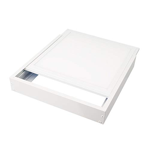 LEDKIA LIGHTING Kit di Superficie Pannelli 60x60cm Bianco