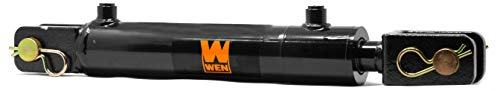 WEN CC2006 Clevis Hydraulic Cylinder with 2 Bore and 6-inch Stroke, Black