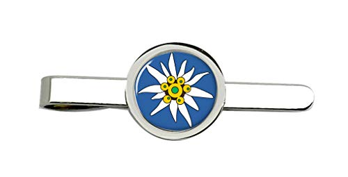 Family Crests Edelweiss Clip-Krawatte Nadel