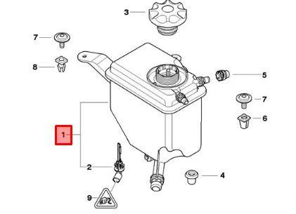 GTV INVESTMENTS 6 E63 Kühlmittel-Ausdehnungsbehälter 17137555234 7555234