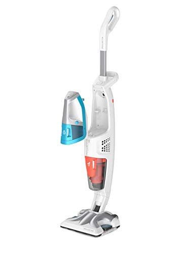 Rowenta, RY7557WH, Clean & Steam, Staubsauger und Fußboden-Dampfreiniger Multi weiß