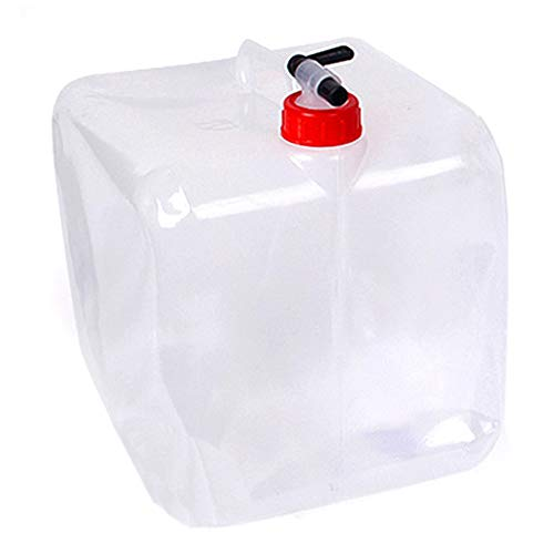 Yanhonin Suave Bolsa de Agua bid/ón Plegable Potable contenedor de Agua Coche para Camping Senderismo Picnic BBQ Vacance Viaje