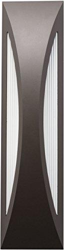 Kichler 49437AZ, Cesya Cast Aluminum Outdoor Wall Sconce Lighting LED, Bronze