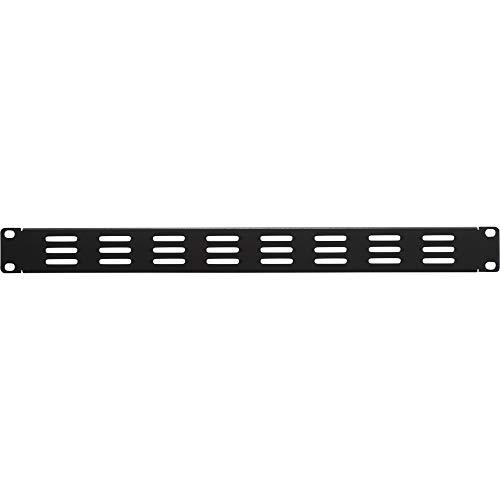 NavePoint 1U Blank Rack Mount Panel IT Server Network Spacer Slotted Venting
