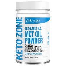 KetoZone MCT Oil Powder - Vegan - 315 Grams - 30 Servings (Unflavored)