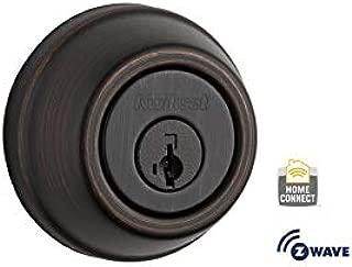 Kwikset 99100-006-R 910 SmartCode Electronic Deadbolt Featuring SmartKey and Z-Wave Technology in Venetian Bronze (Renewed)