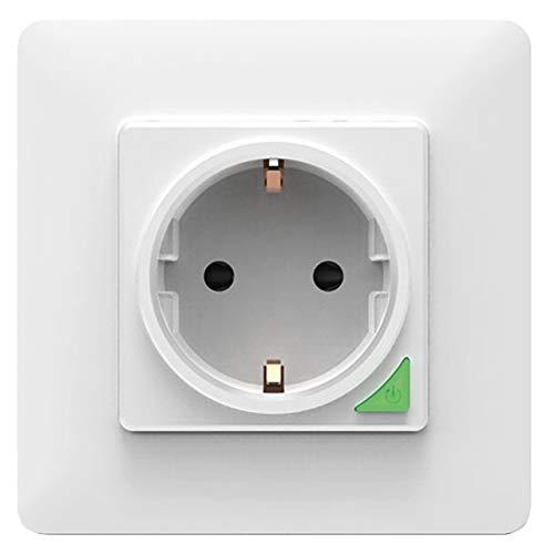 PROCOT SMART Enchufe inteligente WiFi – Funciona con Alexa, Google Home, Apple Siri – Control de voz – perfecto para tu hogar inteligente – No requiere hub – Powered by Tuya