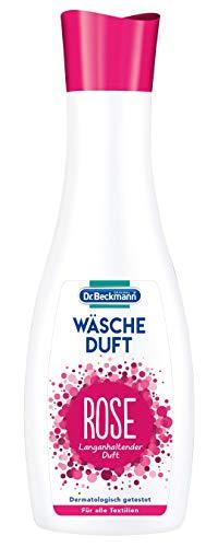 Dr. Beckmann Wäscheduft Rose, für frischen und langanhaltenden Duft, ohne Weichspüler und für alle Textilien geeignet (250 ml)
