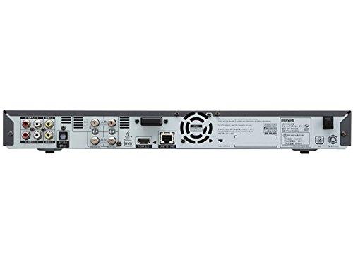 『maxell アイヴィブルー 1TB 3チューナー ブルーレイレコーダー iVDRスロット搭載 BIV-TW1000』の5枚目の画像