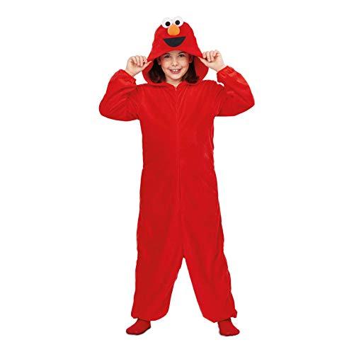 DISFRAZ Pijama Elmo TALLA 5-6 Y