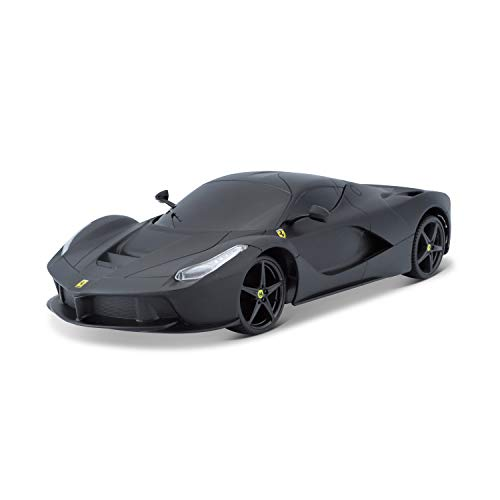 Bauer Spielwaren 581086-3 Ferrari LaFerrari Ferngesteuertes Fahrzeug, matt schwarz
