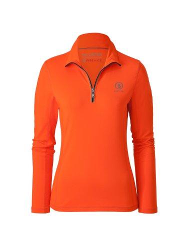 Bogner Fire + Ice Damen Polo T-Shirt Alexia, neon orange, 44, 8451-4615