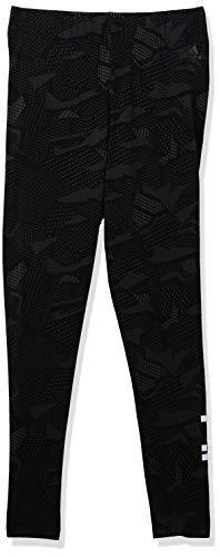 Adidas Womens Essentials All Over Print Tights Black/White Medium