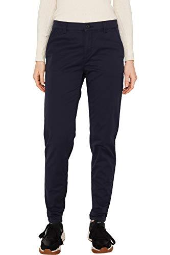 Esprit 990ee1b302 Pantalones, Azul (Navy 400), 34/L32 (Talla del Fabricante: 34/32) para Mujer