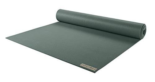 JADE YOGA - Esterilla de yoga Harmony – Esterilla de yoga diseñada para proporcionar un agarre seguro para ayudar a sostener tu postura (verde jade, 172,7 cm)